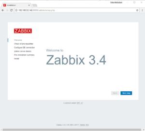 hướng dẫn cài đặt zabbix