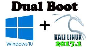 Hướng dẫn dual-boot windows 10 UEFI và Kali Linux