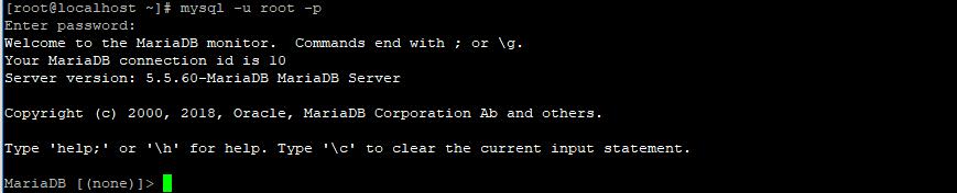 chạy SQL console để tạo db