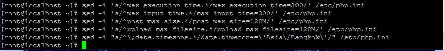 Thay đổi một số thông số trong file php.ini để phù hợp với worpress