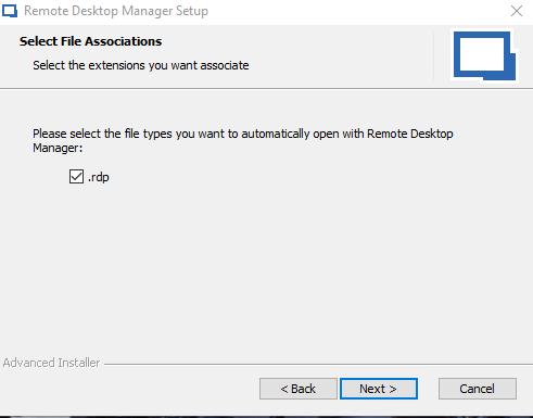 Remote Desktop Manager - Wizard 4