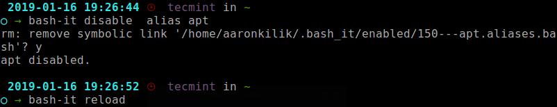 Vô hiệu hóa bí danh trong Linux