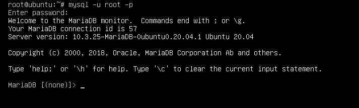 Mariadb 10.3 - cài đặt LEMP stack trên Ubuntu 20.04